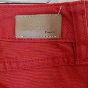 Esprit Jeans - Esprit Red denim jeans